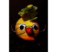 Laughter + fruit + vegetables = health Photographic Print