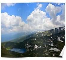 High Mountains Lakes Poster