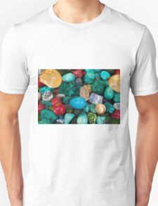 polished semi precious gem stones T-Shirt