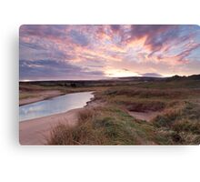 Inverness Dunes Sunrise Canvas Print