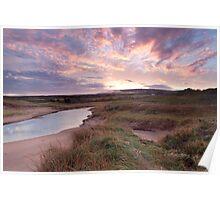 Inverness Dunes Sunrise Poster