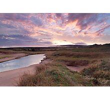 Inverness Dunes Sunrise Photographic Print