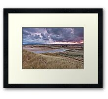 Sunrise on Inverness Dunes Cape Breton NS Framed Print