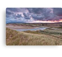 Sunrise on Inverness Dunes Cape Breton NS Canvas Print