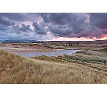 Sunrise on Inverness Dunes Cape Breton NS Photographic Print