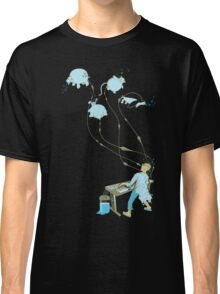 Mad Animal Pianist - Digital Art + Painting Classic T-Shirt