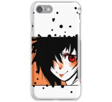 Cute anime red eyes iPhone Case/Skin