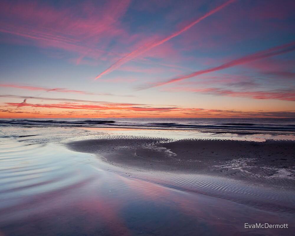 Pink Streaked Sky by EvaMcDermott