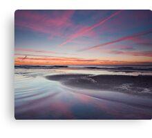 Pink Streaked Sky Canvas Print