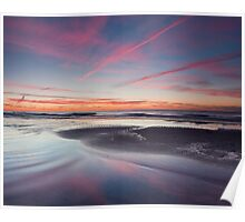 Pink Streaked Sky Poster