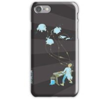 Mad Animal Pianist - Digital Art + Painting iPhone Case/Skin