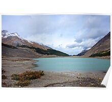 Columbia Ice Fields, Alberta Poster