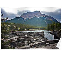 Athabaska Falls, Alberta Poster