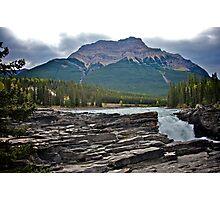 Athabaska Falls, Alberta Photographic Print