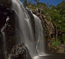 Mackenzie Falls in Moonlight by pablosvista2