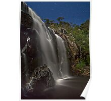 Mackenzie Falls in Moonlight Poster