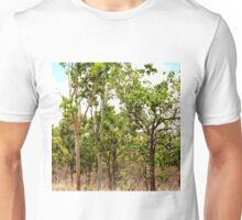 Eucalyptus Trees with Dry Grass Unisex T-Shirt