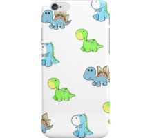 dinosaur babies iPhone Case/Skin