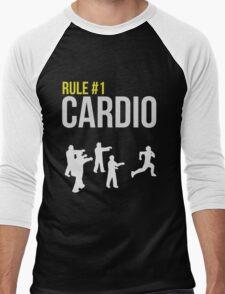 Zombie Survival Guide - Rule #1 Cardio Men's Baseball ¾ T-Shirt