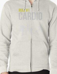 Zombie Survival Guide - Rule #1 Cardio Zipped Hoodie