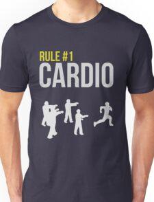 Zombie Survival Guide - Rule #1 Cardio Unisex T-Shirt