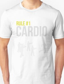 Zombie Survival Guide - Rule #1 Cardio Unisex T-Shirt