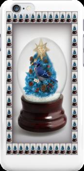 。◕‿◕。 ☀ ツ I'll HAVE A BLUE CHRISTMAS WITHOUT YOU ~BLUE JAY IPHONE CASE 。◕‿◕。 ☀ ツ by ✿✿ Bonita ✿✿ ђєℓℓσ