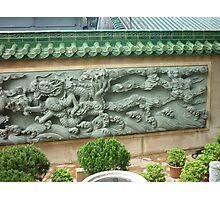 Fearsome Dragon Wall Mural Photographic Print