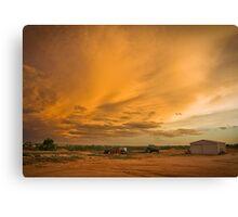 Biancas Sunset Canvas Print