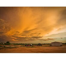 Biancas Sunset Photographic Print
