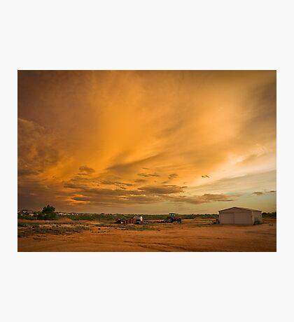 Biancas Sunset Photographic Print