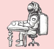 Even astronaughts have paperwork by Emmet O'Dwyer
