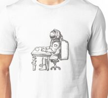 Even astronaughts have paperwork Unisex T-Shirt