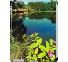End of summer at the pond iPad Case/Skin