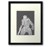 Master Chief Not Color Framed Print