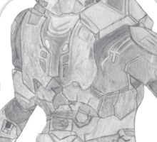 Master Chief Not Color Sticker