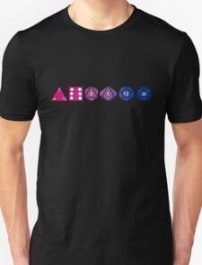 Bisexuality Pride (Polyhedral Edition) T-Shirt