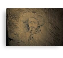ww1 grafitti wild bill Canvas Print