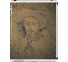 ww1 grafitti wild bill iPad Case/Skin