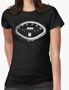 Classic Piaggio Vespa Speedo Womens Fitted T-Shirt