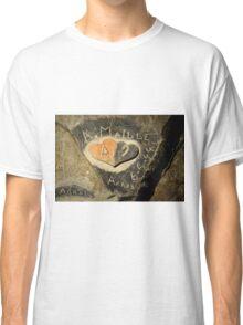 ww2 grafitti hearts underground Classic T-Shirt