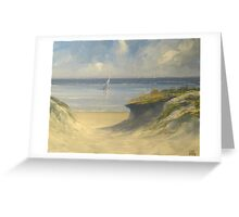 Dunes of Victor Greeting Card