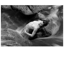 2012 Waterscape Nudes Calendar - February by Scott Foltz