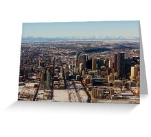 Calgary and the Rocky Mountains Greeting Card