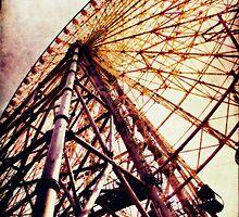 Tempozan Giant Ferris Wheel by Lynnette Peizer