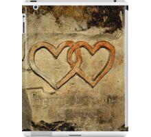 ww2 grafitti hearts underground iPad Case/Skin