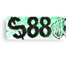 88 dollar bill Canvas Print