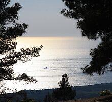 Gallipoli sunset by Christine Oakley