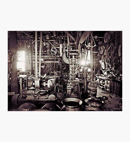 1800s Workshop Photographic Print