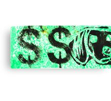 2 dollar bill Canvas Print